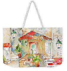 Les Gourmandises St Paul De Vence Weekender Tote Bag by Pat Katz