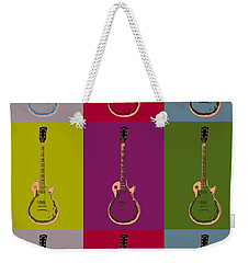Les Paul Colorful Poster Weekender Tote Bag