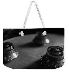 Les Paul Controls Series  Weekender Tote Bag