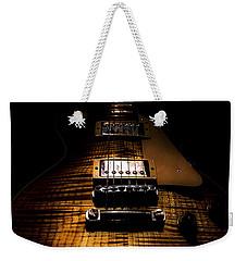 Burst Top Guitar Spotlight Series Weekender Tote Bag