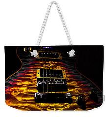 Tri-burst Quilt Top Guitar Spotlight Series Weekender Tote Bag