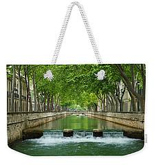 Les Quais De La Fontaine Weekender Tote Bag by Scott Carruthers