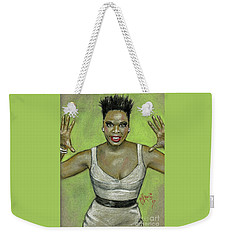 Leslie Jones Weekender Tote Bag