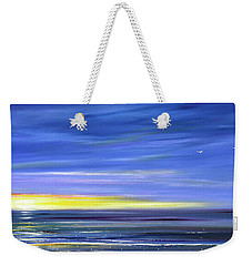 Less Drama Panoramic Sunset Weekender Tote Bag