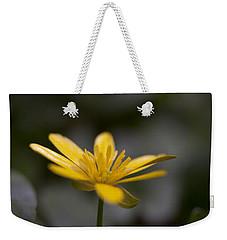 Lesser Celandine Weekender Tote Bag