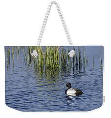 Lesser Scaup Adult Male Weekender Tote Bag