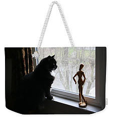 Lesson In Perspective  Weekender Tote Bag