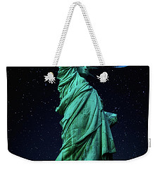 Weekender Tote Bag featuring the photograph Let Freedom Ring by Darren White