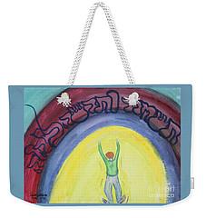 Let Go And Let God  Weekender Tote Bag