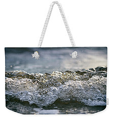 Weekender Tote Bag featuring the photograph Let It Come To You by Laura Fasulo