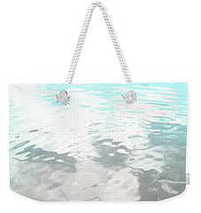 Weekender Tote Bag featuring the photograph Let It Flow by Rebecca Harman