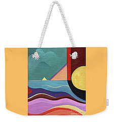 Let It Shine Weekender Tote Bag by Helena Tiainen