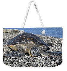 Weekender Tote Bag featuring the photograph Let Me Rest by Pamela Walton