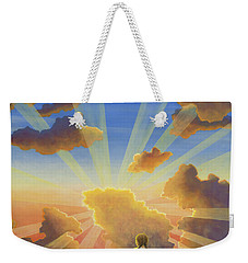 Let The Day Begin Weekender Tote Bag