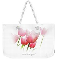Let The Earth Rejoice Weekender Tote Bag
