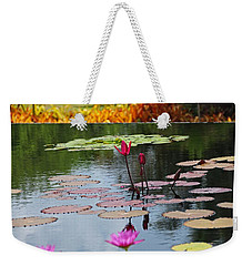 Weekender Tote Bag featuring the photograph Let The Music Lift You by Michiale Schneider