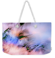 Weekender Tote Bag featuring the photograph Let The Winds Of The Heavens Dance by Theresa Tahara