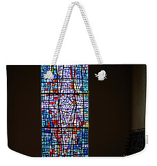 Weekender Tote Bag featuring the photograph Let There Be Coloured Light... by Nina Stavlund
