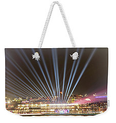 Weekender Tote Bag featuring the photograph Let There Be Light By Kaye Menner by Kaye Menner