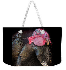 Weekender Tote Bag featuring the photograph Let Us Give Thanks by Karen Wiles