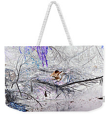 Let Your Mind Fly Away Weekender Tote Bag by Nature Macabre Photography