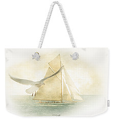 Weekender Tote Bag featuring the painting Let Your Spirit Soar by Chris Armytage