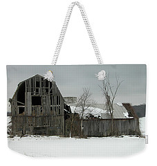 Letchworth Barn 0077b Weekender Tote Bag by Guy Whiteley