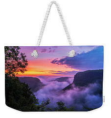 Letchworth Sunrise Weekender Tote Bag
