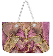 Lether Butterfly Or Not Weekender Tote Bag