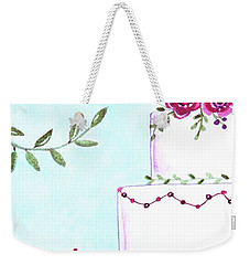 Let's Celebrate With The Birds Weekender Tote Bag