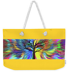 Weekender Tote Bag featuring the photograph Let's Color This World By Kaye Menner by Kaye Menner