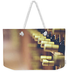 Weekender Tote Bag featuring the photograph Let's Crack One Open by Trish Mistric