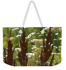 Weekender Tote Bag featuring the photograph Let's Dance by Betsy Zimmerli