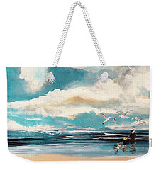 Let's Feed The Seagulls Weekender Tote Bag