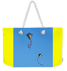 Let's Fly Away Weekender Tote Bag