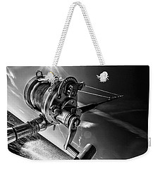 Lets Go Fishing Weekender Tote Bag by Kevin Cable