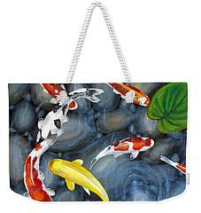 Let's Go Swimming Weekender Tote Bag