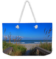 Lets Go To The Beach Weekender Tote Bag