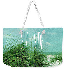 Let's Go To The Sea-side Weekender Tote Bag