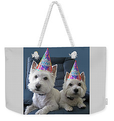 Let's Party Weekender Tote Bag