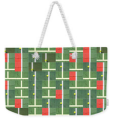 Let's Play Some Tennis Weekender Tote Bag