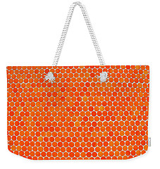 Let's Polka Dot Weekender Tote Bag