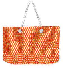 Let's Polka Dot Weekender Tote Bag