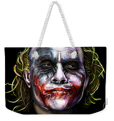 Let's Put A Smile On That Face Weekender Tote Bag by Vinny John Usuriello