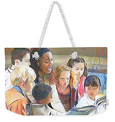 Let's Read Weekender Tote Bag