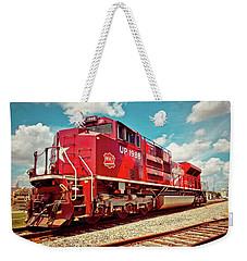 Let's Ride The Katy Weekender Tote Bag by Linda Unger