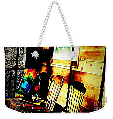 Let's Rock Weekender Tote Bag