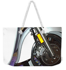 Weekender Tote Bag featuring the photograph Lets Roll by Shana Rowe Jackson
