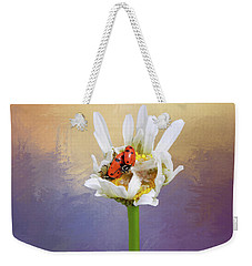 Lets Tango Weekender Tote Bag by Donna Kennedy