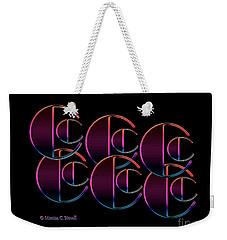 Letter Art L5 - Cs Weekender Tote Bag
